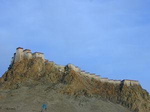 Gyantse Fortress.