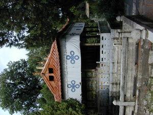 The Tsokyil Podrang, a small island temple (the lake is dry). ?? (Norbu Lingga, China)