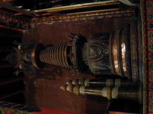 A stupa.