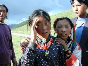 Close up of nomads.