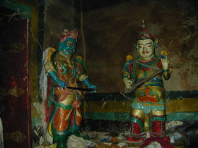 Jo khang Lha Khang in 'Khor Chags dgon pa