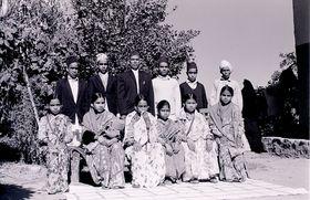 Extended Brahmin village family