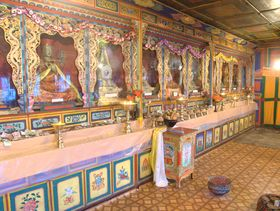 Temple in Lhagang Monastery
