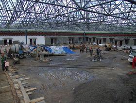 School being constructed at Dora Gamo.