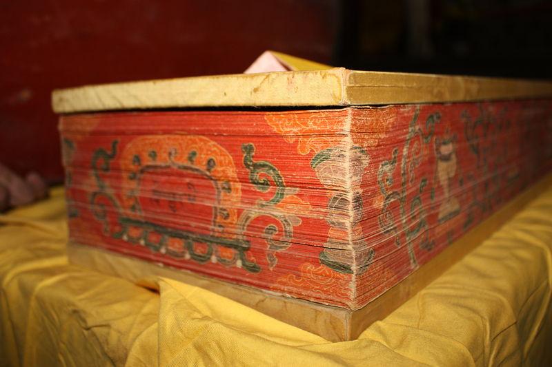 The great Tibetan scripture Kangur