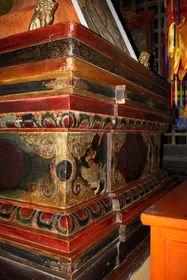 One angle from the Buddha seat at Drotshang Dorje Chang Monastery (Drotsang  Gön, China)