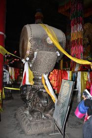 Th great drum of Dro Tshang Dorje Chang (Drotsang  Gön, China)