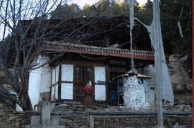 The Threl lhakhang in Tang