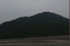 Picture of  a mountain on our way to Bhukay Dham