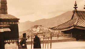 The Potala from roof of Cho-khang