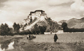 Potala Palace from the east.